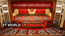 China's Li signals tough times for economy