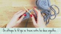 Tricot : apprendre à tricoter en vidéo une maille endroit facilement