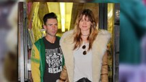 Adam Levine And Behati Prinsloo's Loved Up New York Shopping Trip