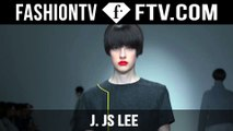 J. JS LEE Fall/Winter 2015 | London Fashion Week | FashionTV