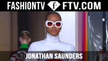 Jonathan Saunders Fall/Winter 2015 Show | London Fashion Week LFW | FashionTV
