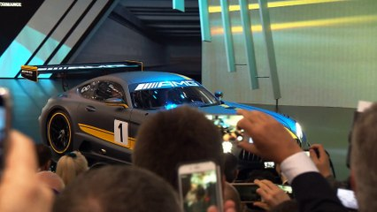 Genfer Automesse 2015: Mercedes AMG GT3 und mehr