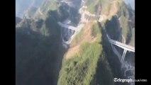 Chinese build record breaking bridge,,,,,,,