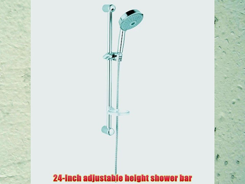 Grohe 27 140 000 Rainshower Rustic Shower Set Starlight Chrome