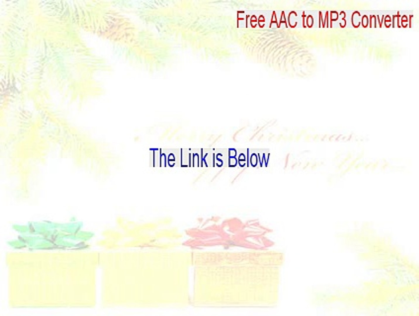 Free AAC to MP3 Converter Crack (free aac to mp3 converter full 2015)