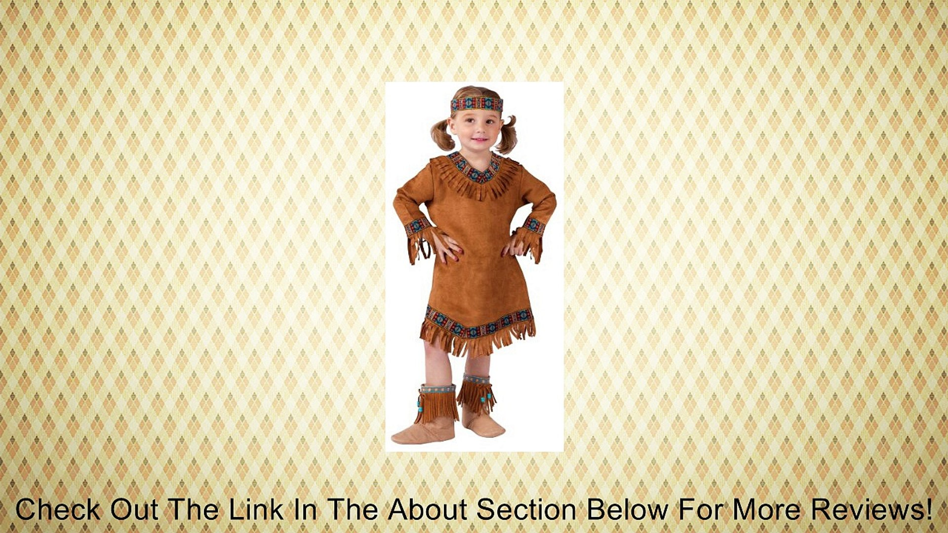 Fun World Girls Native American Indian Girl Costume Review