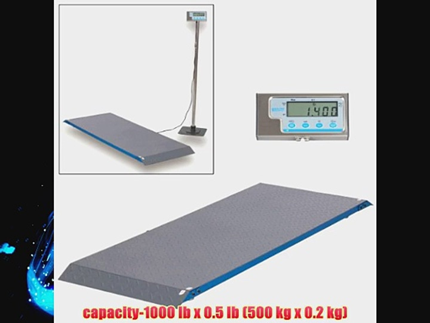 Salter 9000 WH3R White Electronic Scale