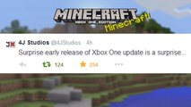 Minecraft Xbox  Playstation NEW TITLE UPDATE 22 OUT NOW  CONFIRMED SURPRISE UPDATE  INFO