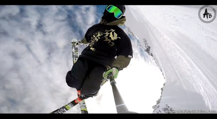 Freestyle au glacier de Tignes !