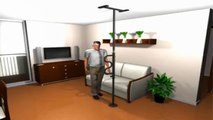 Do you need a pole grab support to stand up? The Stander Security Pole with Grab Bar will assist you everytime