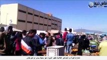 شعارات قوية من الجماهير الطلابية بظهر المهراز تهز محيط سيدي ابراهيم بفاس