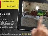 A vendre - maison - MEYRALS (24220) - 6 pièces - 135m²