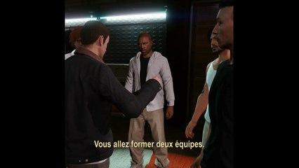 GTA V - Court Bande annonce Braquages  de Grand Theft Auto V