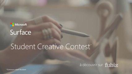 Microsoft Surface / Student Creative Contest : appel à créations