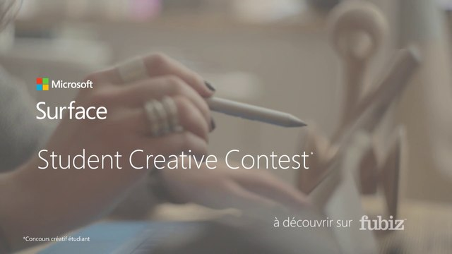 Microsoft Surface / Student Creative Contest : appel à créations