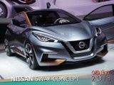Nissan Sway Concept en direct du salon de Genève 2015
