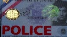 Cartes professionnelles et cartes d'agents
