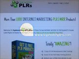 TOP QUALITY Private Label Rights & Master Resell Rights Products - Top Notch PLRs
