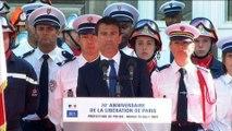70e anniversaire du soulèvement de la préfecture de police de Paris : discours du Premier ministre