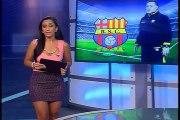 TC Deportes - hinchas descontentos con resultados de Barcelona
