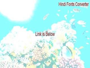 Hindi Fonts Converter Key Gen - Free Download 2015 - video