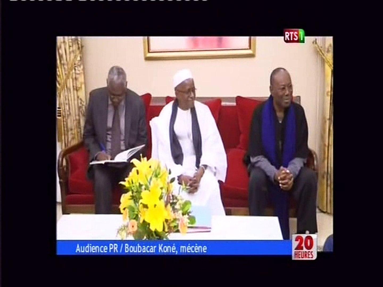 Audience PR/Boubacar Koné, mécène