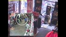 Boston Marathon Bombing Scene From Inside Marathon Sports Store