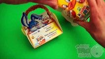 Kinder Surprise Egg Party!  Opening a Kinder Surprise Egg Basket and Box!