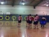 Mens Volleyball Hitting Drill - Quick Balls