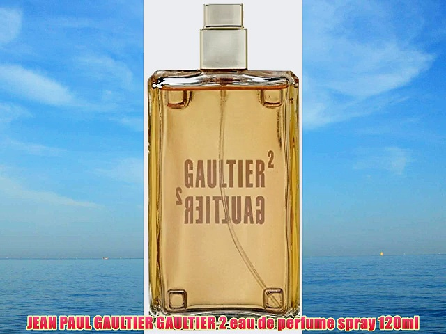 JEAN PAUL GAULTIER GAULTIER 2 eau de perfume spray 120ml