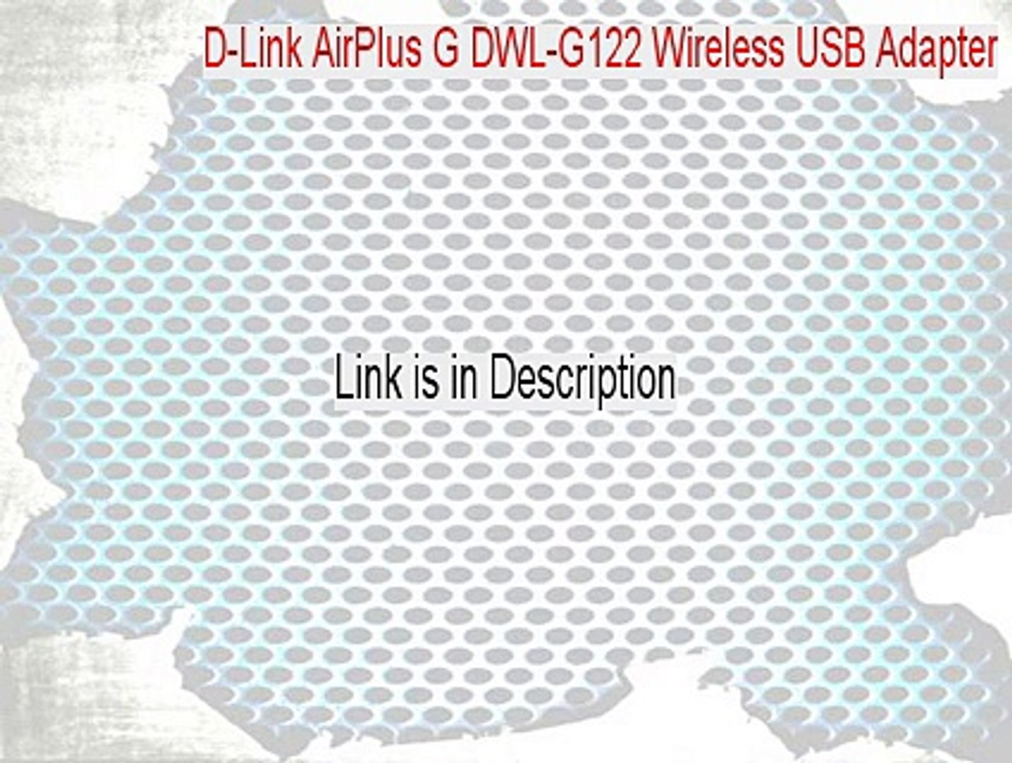 DWL G122 REVC DRIVERS DOWNLOAD FREE