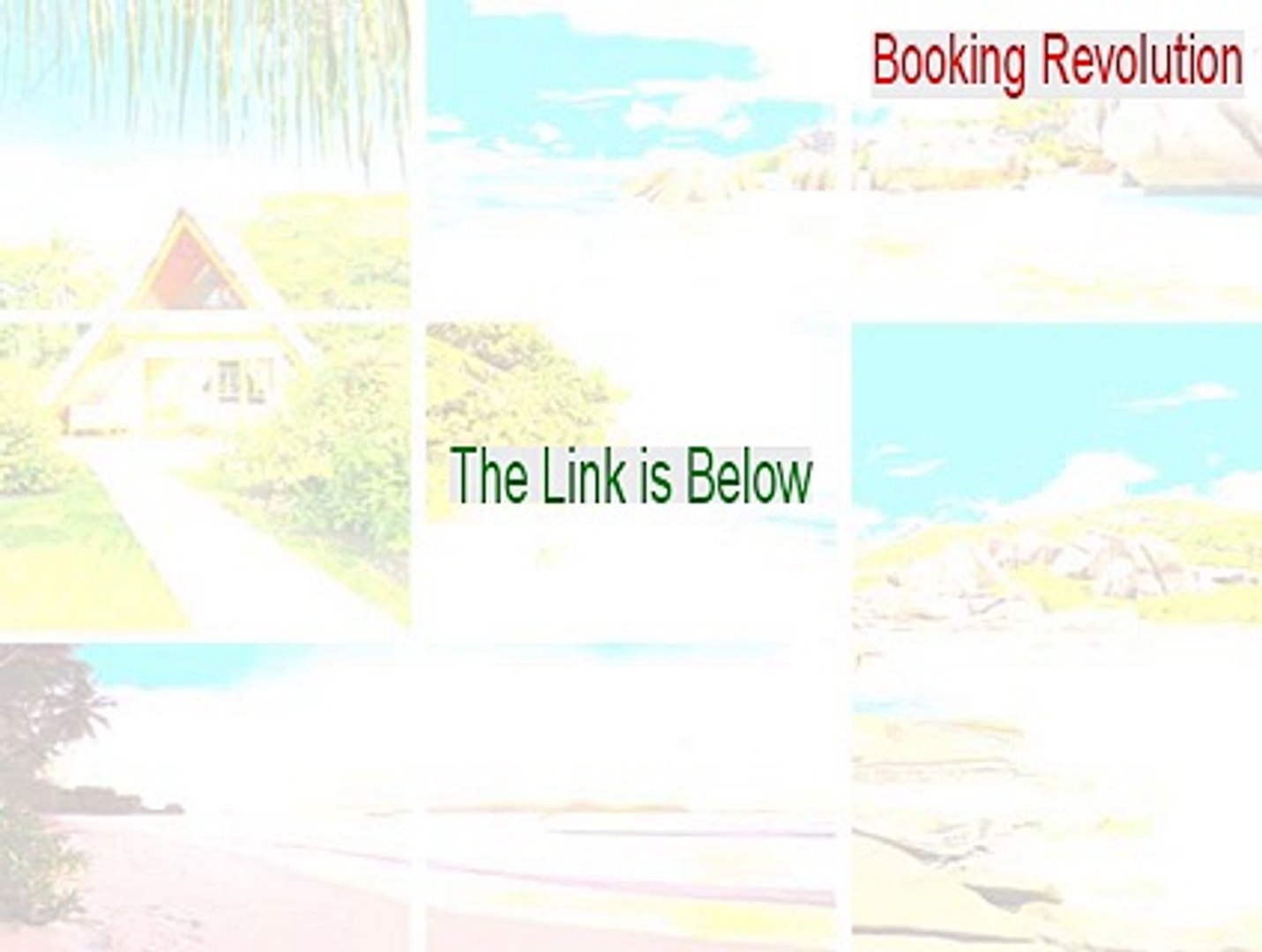 Booking Revolution Full Download - Instant Download 2015