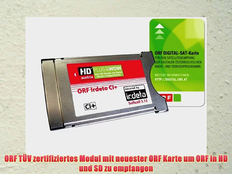 Hd Plus Modul Karte Einsetzen.Orf Irdeto Ci Modul Inklusive Orf Ice Karte F R Orf Atv Und Hd Austria