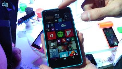 MWC 2015 Microsoft Lumia 640 Ön inceleme