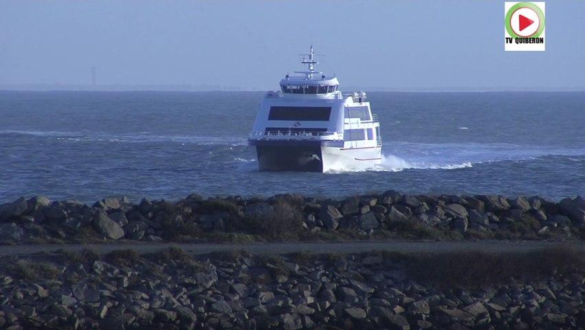 Ile d'Yeu: Petit matin d'hiver à Port Joinville -Télé Ile d'Yeu Vendée