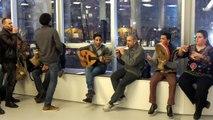 [VIDEO] Annecy: des airs égyptiens dans les couloirs de Bonlieu