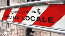 TG 05.03.15 Strage sfiorata in sala giochi ad Altamura, bomba ferisce 8 giovani. Tre sono gravi