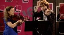 Sarah Nemtanu et Marc-Olivier de Nattes jouent Bartok et Armin Kaufman | Le live de la matinale
