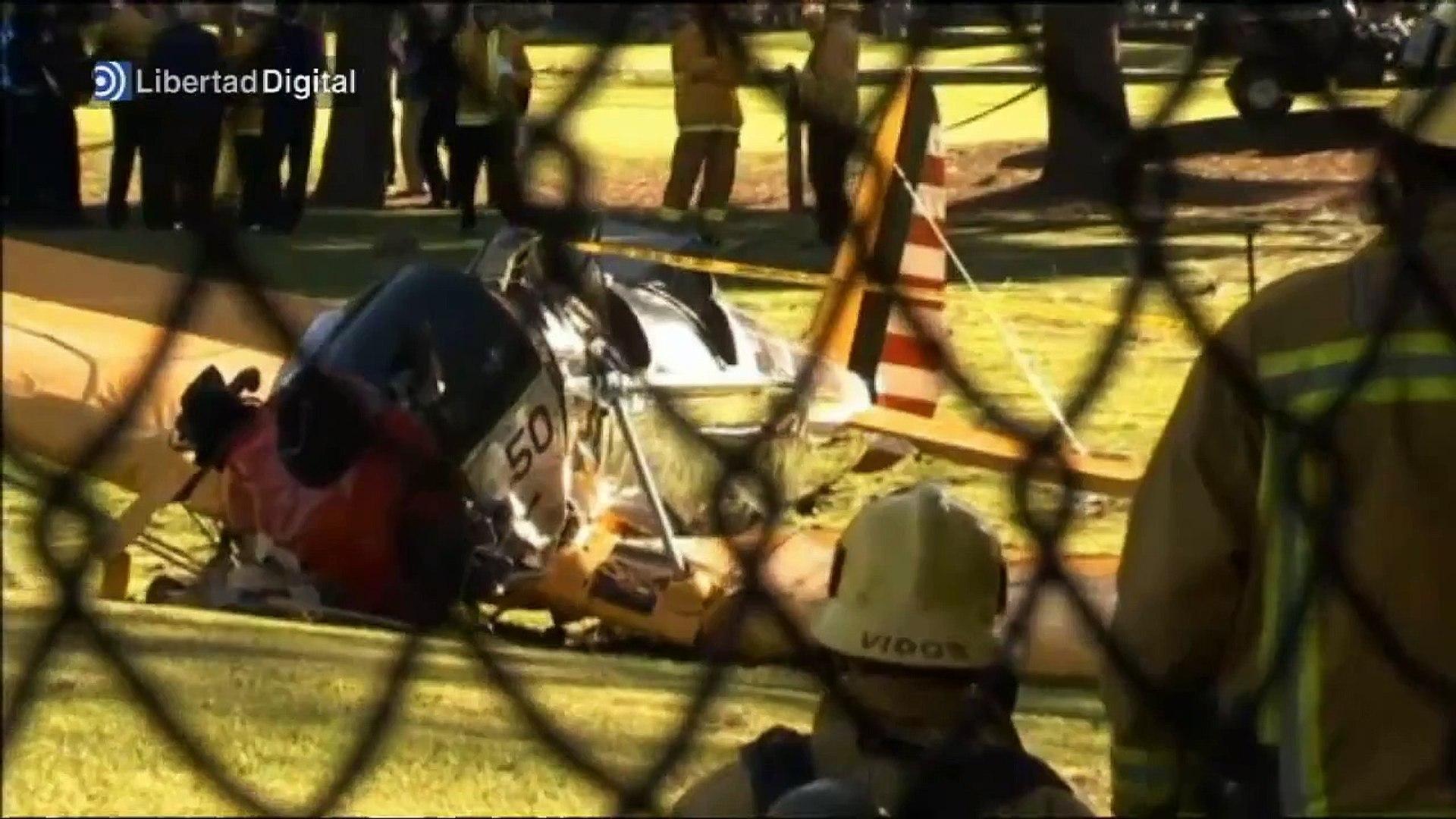 Harrison Ford, herido tras estrellarse su avioneta - Harrison Ford plane crash
