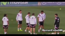 Cristiano Ronaldo and James Rodriguez Funny Moments - Cristiano Ronaldo fake vs James 2014 - YouTube