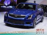 Cadillac ATS-V en direct du salon de Genève 2015