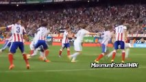 Cristiano Ronaldo Punches vs Diego Godin - Atletico Madrid vs Real Madrid 2014