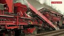 SNCF. Remplacement des anciennes voies ferrées : un chantier mobile entièrement mécanisé