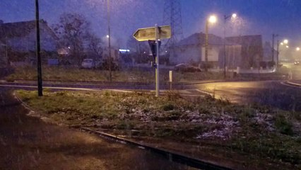 Chutes de neige à Pontchâteau en Loire-Atlantique - Témoins BFMTV