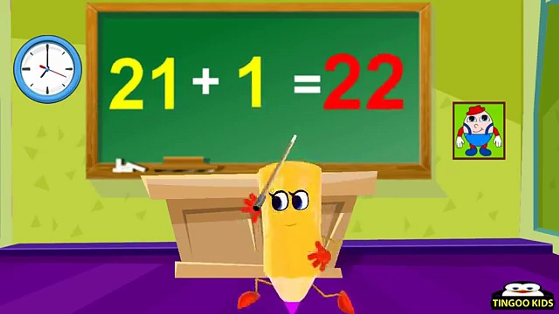 Tutorial   Learn To Add 21 Table   Kids Math Education