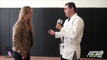 UFC Fighter Ronda Rousey Breaks Web Show Hosts Ribs With Violent Judo Throw