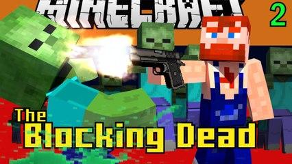 Minecraft Blocking Dead Mini Game Play 2 by Nik Nikam