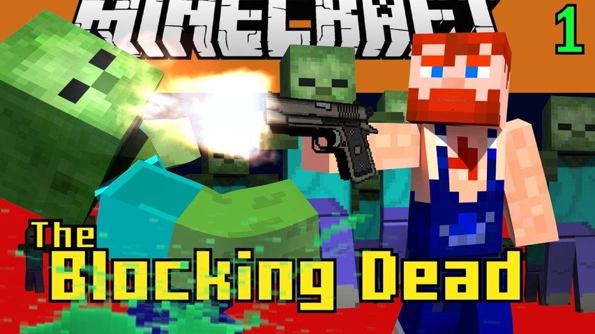 Minecraft Blocking Dead Mini Game Play 1 by Nik Nikam