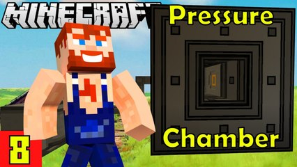 Pressure Chamber works Nik Nikam's EPIC Minecraft Modded Survival Ep 8