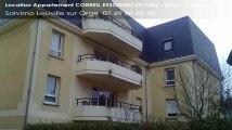 A louer - appartement - CORBEIL ESSONNES (91100) - 2 pièces - 38m²